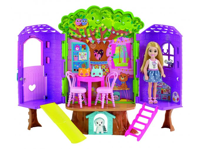 Barbie Chelsea domeček na stromě