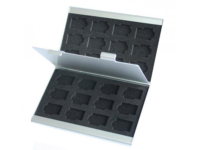 Hliníkové pouzdro na microSD karty 02
