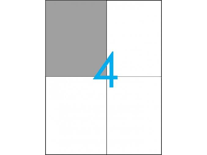 samolepicí štítky A4 do tiskárny 04