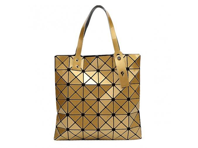 Dámská taška BAO BAO čtvrtec zlatá 01