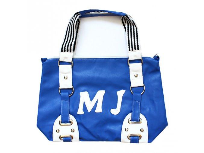 Sportovní dámská taška MJ modrá 01