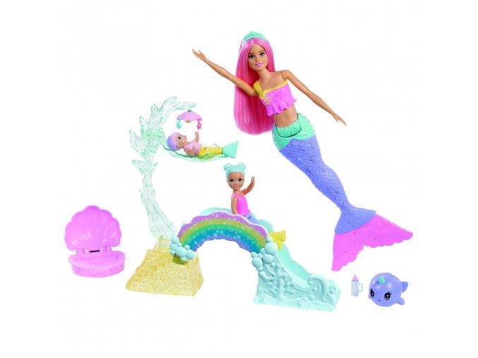 Barbie Dreamtopia Mořská panna a miminko 02