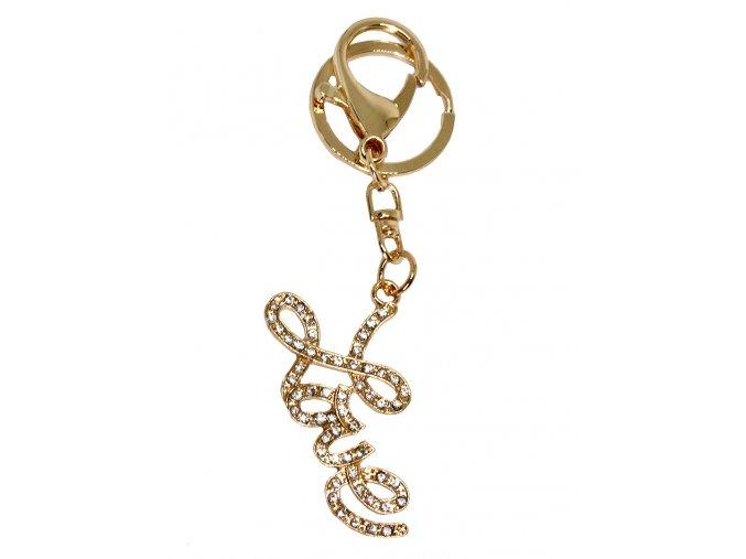 Přívěsek na kabelku a klíče LOVE 01