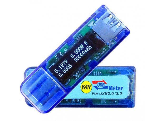USB OLED 3 0 voltmetr testovací přístroj 01
