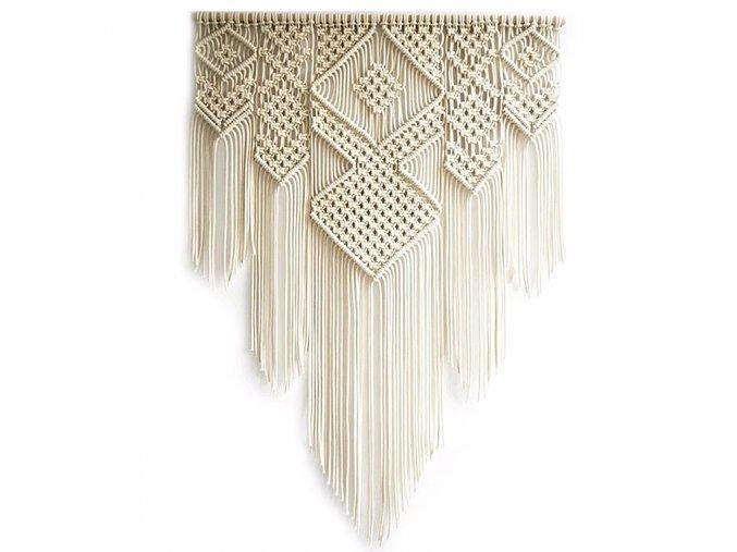 Macramé dekorace Tapestry 011