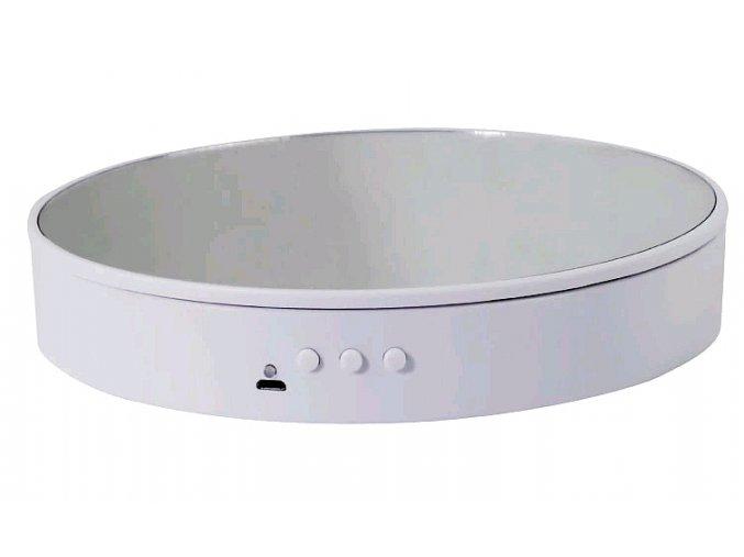 Otočná podložka talíř se zrcadlem 1