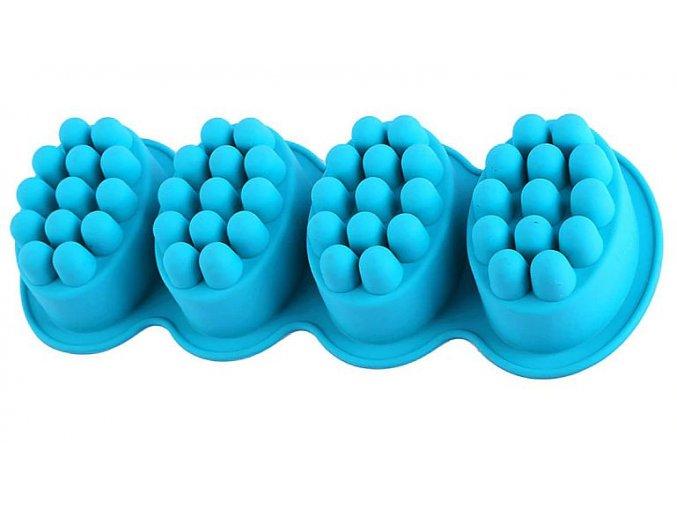 Set 4 ks masážní mýdlo s bodlinami 1