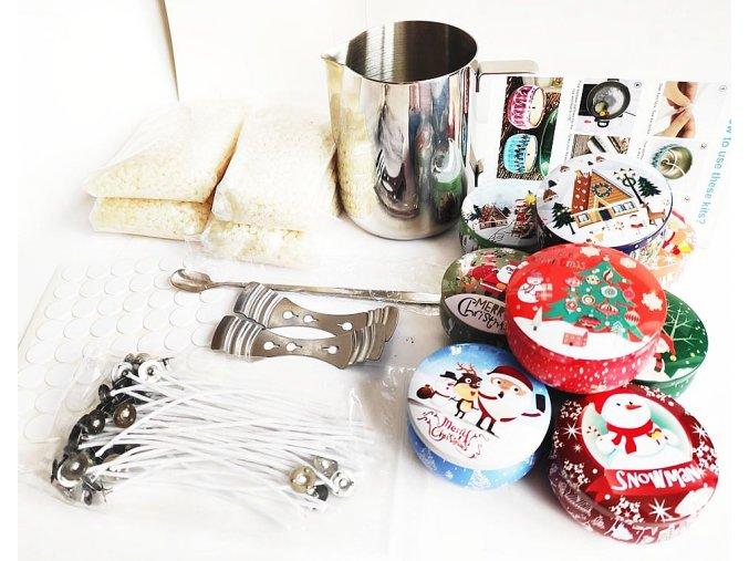 Domácí sada na výrobu svíček CANDLE WINTER KIT 01