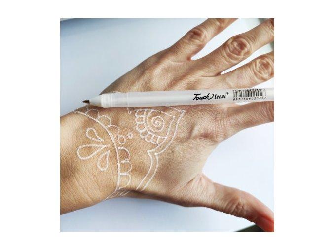 Gelové pero pro předkreslení henny