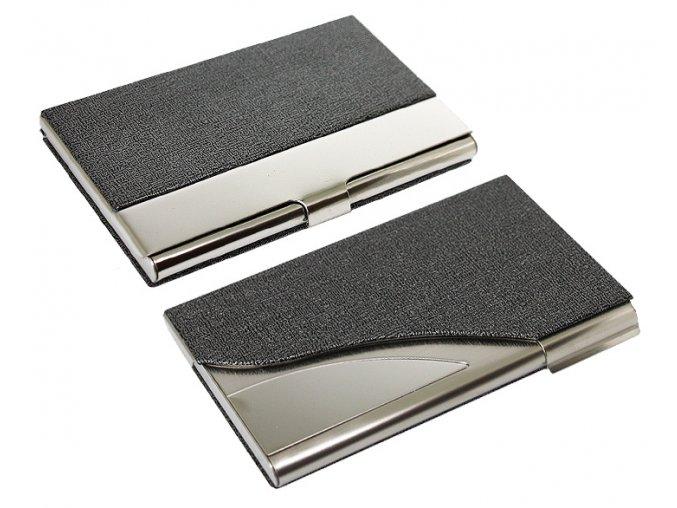 Kovové pouzdra Melange šedé
