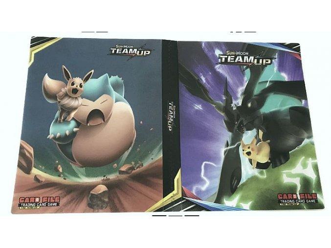 Album na sběratelské karty Pokemon TeamUp