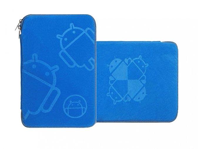 Pouzdro na tablet 7 palců Android modrý 01