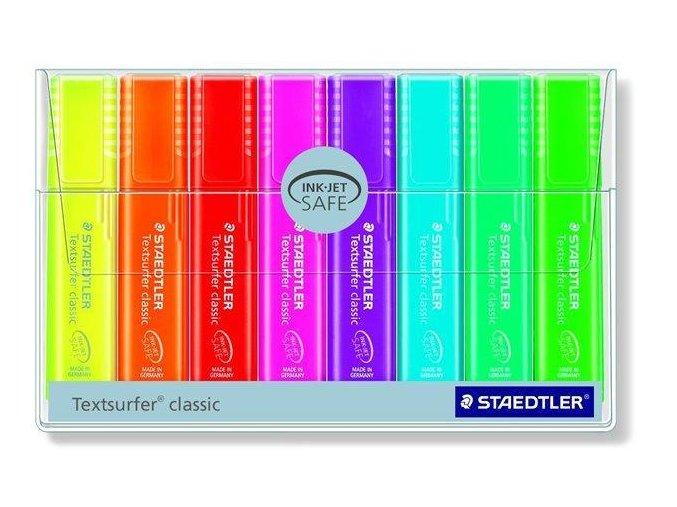 Zvýrazňovače STAEDTLER Textsurfer classic 8 ks 02
