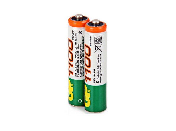 Dobíjecí AAA baterie GP 1100 sada 2ks