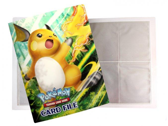 Album na sběratelské karty Pokemon 20A