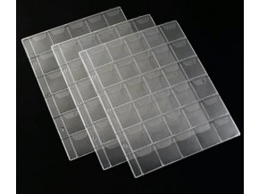 Folie na mince známky microSD 30 kapes