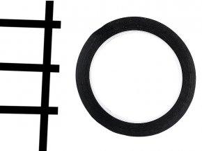 samolepicí linky na whiteboardy černé 05