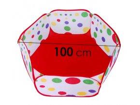 Bazén na míčky INDOOR nez koše 100 cm