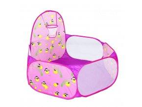 Bazének na míčky Světlušky fialový 01