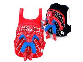 Dětský batoh Spiderman černý 02