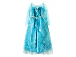 Kostým šaty pro Elsu modré 01
