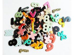 magnety na tabuli a lednici matematika