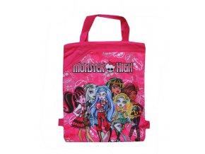 pytlík na přezuvky Monster High růžový 01
