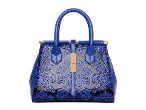Dámská kabelka MOCHILA černo modrá 01