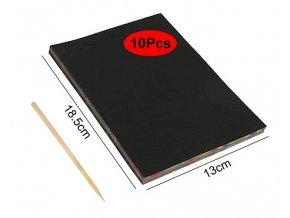 Vyškrabavací papíry 18x13 cm