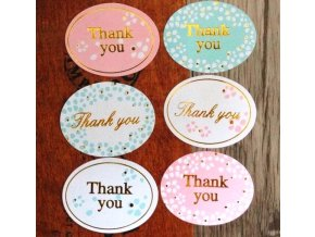 Samolepky Thank You Style 04 mix2