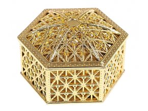 Ozdobná krabička Orient 002 / šestihran