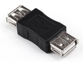Adaptér redukce USB female USB female 2