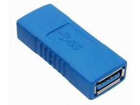 Adaptér redukce USB female USB female 4