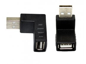 úhlová redukce USB 2 0 pro USB kabel 03