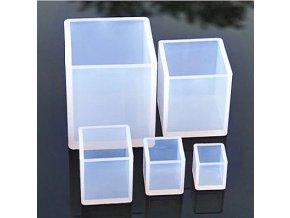 Plastová forma na svíčky Kostka 01