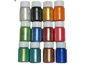 MICA přírodní práškové barvy 12 SET