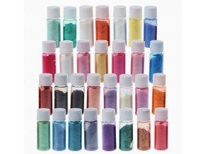 MICA přírodní práškové barvy 30 SET