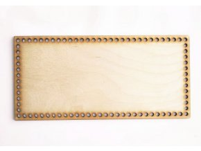 Dřevěná podložka na košíky obdelníková