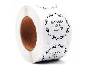 Samolepky Baket with Love