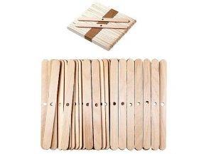 Dřevěné držáky na knoty výroba svíček 1