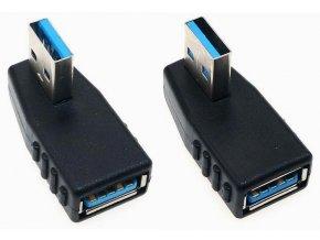 Úhlová redukce USB USB pravá levá