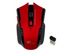 Optická bezdrátová myš FANTECH RED červená 01