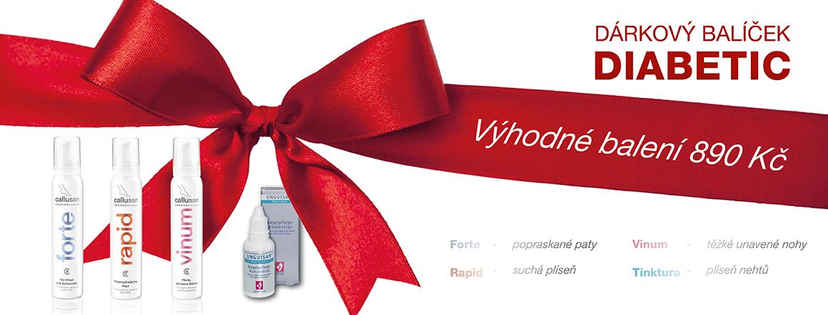 Vánoční balíček DIABETIC