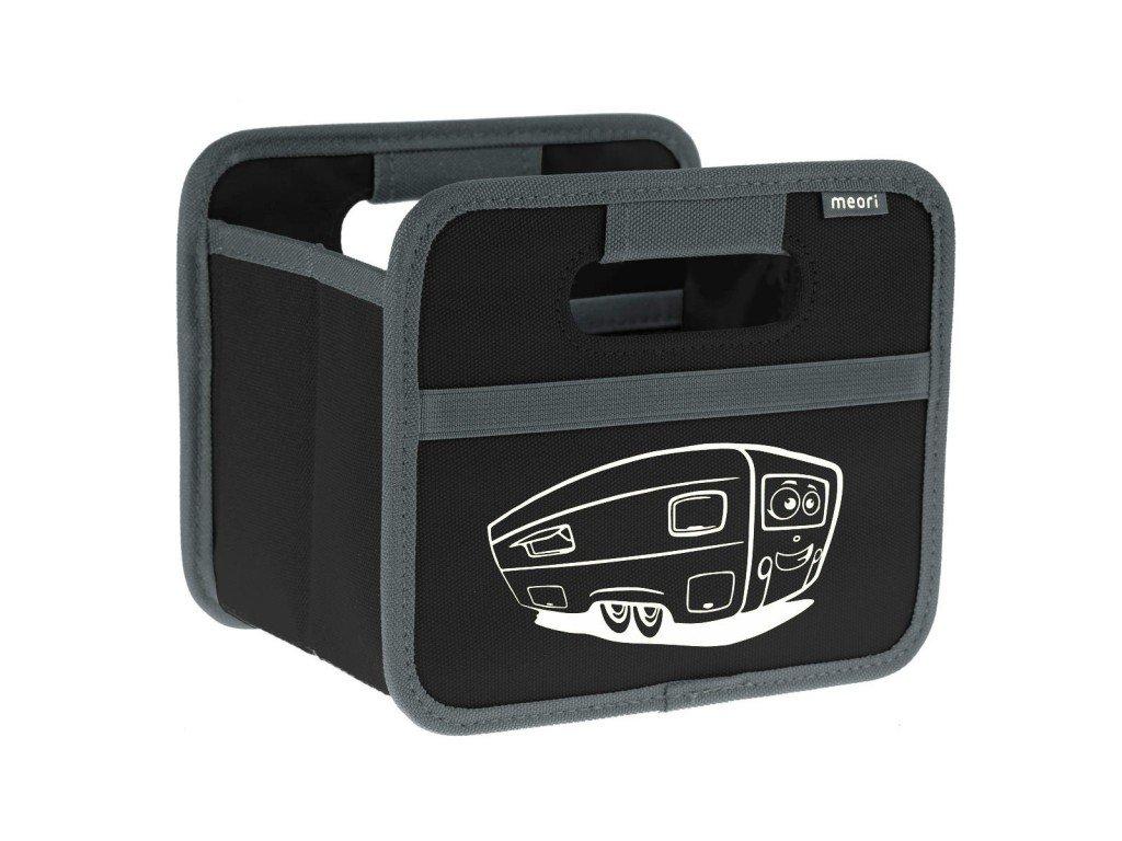 Meori skládací box Mini Caravan černý