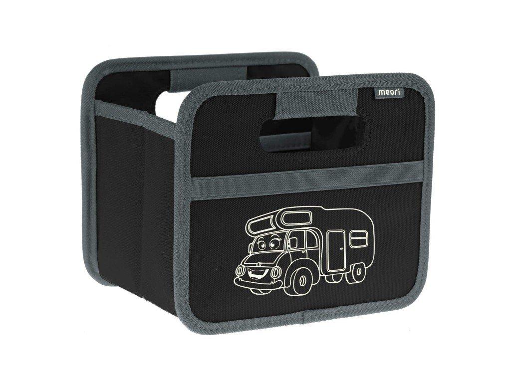 Meori skládací box Mini Travel Trailer černý
