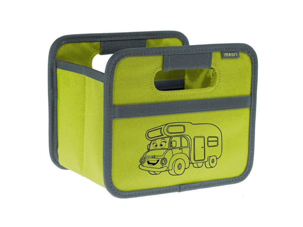 Meori skládací box Mini Travel Trailer zelený