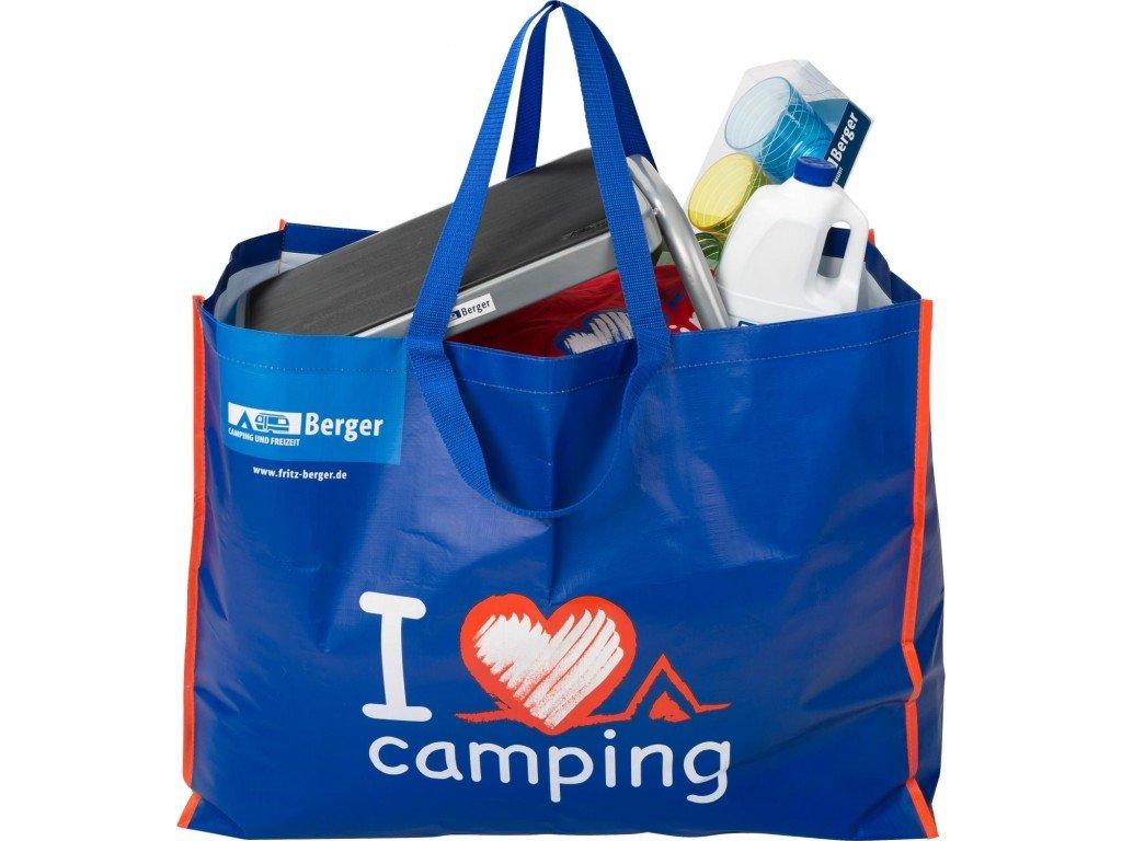 Berger taška XXL I love Camping