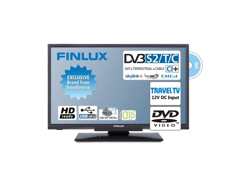 Finlux 22FDMA4760 -T2 SAT DVD 12V