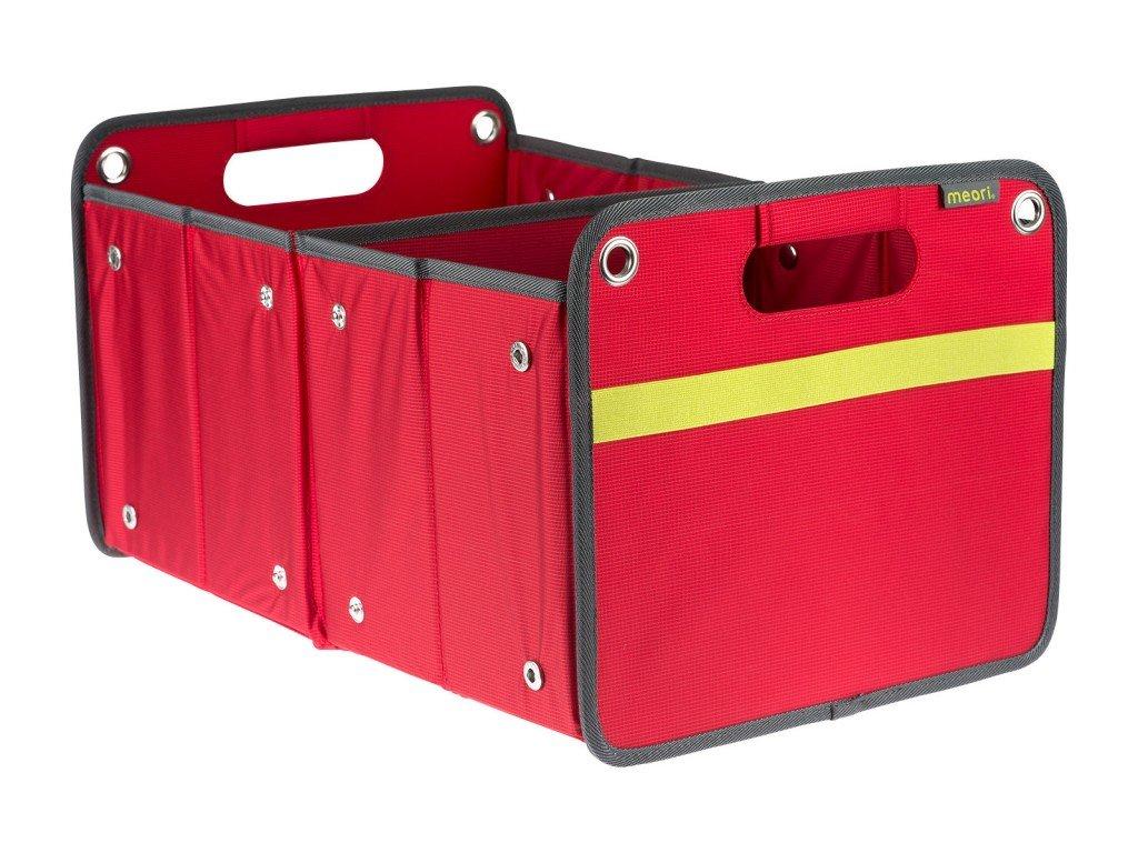 Meori skládací box Outdoor - Bahia Solid červená