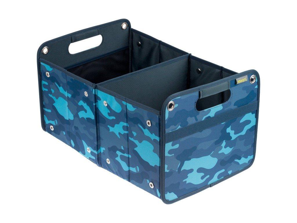 Meori skládací box Outdoor - Camo modrá